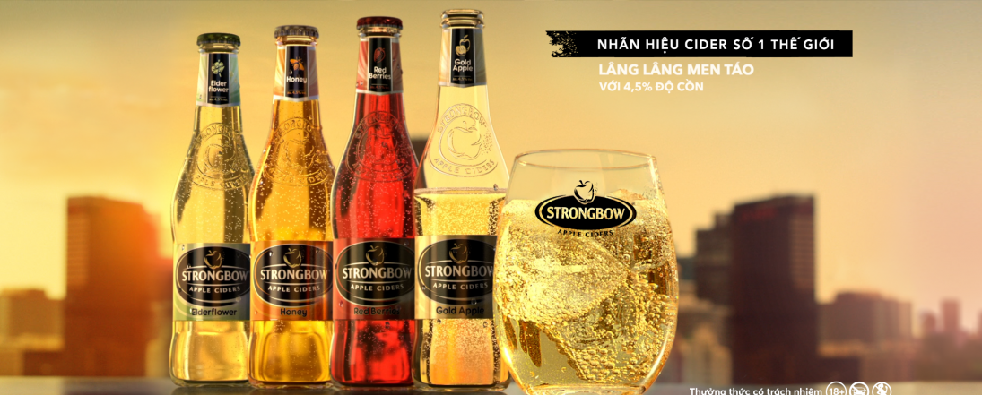 Marketing Strategy Agency Proud Works - Strongbow 6PM Tuyệt chill phiêu men táo